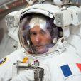 Le spationaute français Thomas Pesquet prépare son voyage vers la station spatiale internationale à Houston le 10 mai 2016.