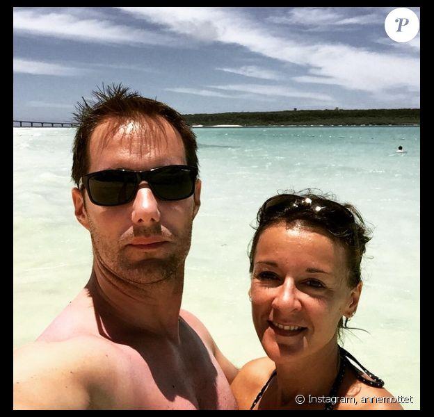 Anne Mottet et son chéri Thomas Pesquet - Photo publiée sur Instagram le 5 juin 2015