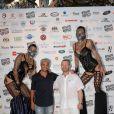 Farid Khider et Nadir Allouache ( président de la FFKMDA (Fédération Française de Kick Boxing, Muay Thaï et Disciplines Associées) lors de la 5ème édition de la Fight Night à la Citadelle de Saint-Tropez, le 4 août 2017.La Fight Night est un concept original alliant les plus hautes valeurs des sports de combats internationaux au glamour de Saint-Tropez. Certains des plus grands noms de la boxe thaï et du kick-boxing mondiaux se sont affrontés sur ce ring faisant désormais partie de la légende de la boxe sous toutes ses formes. Cette prestigieuse soirée de gala est devenue au cours du temps LA marque d'un succès sportif et people retentissant. Un événement incontournable dans le village le plus célèbre de la Côte d'Azur. © Rachid Bellak/Bestimage04/08/2017 -