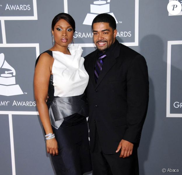 Jennifer Hudson et son fiancé David Otunga lors des Grammy Awards 2009