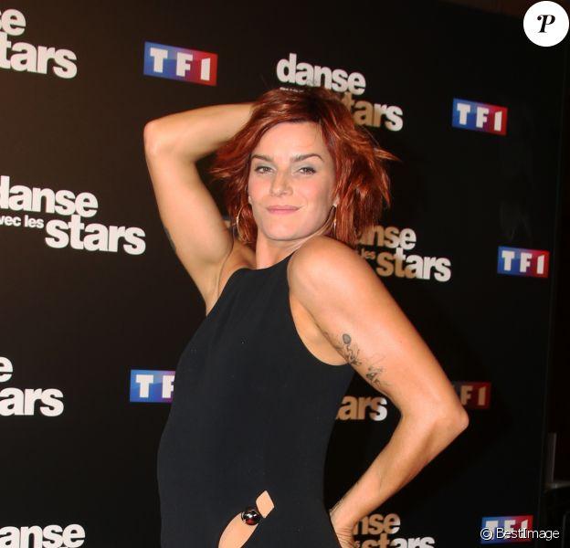 """Fauve Hautot au photocall de l'émission """"Danse Avec Les Stars - Saison 7"""" à Boulogne-Billancourt, le 28 septembre 2016. © Denis Guignebourg/Bestimage"""