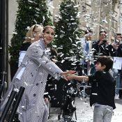 Céline Dion quitte Paris avec ses jumeaux : Pluie de confettis et vive émotion