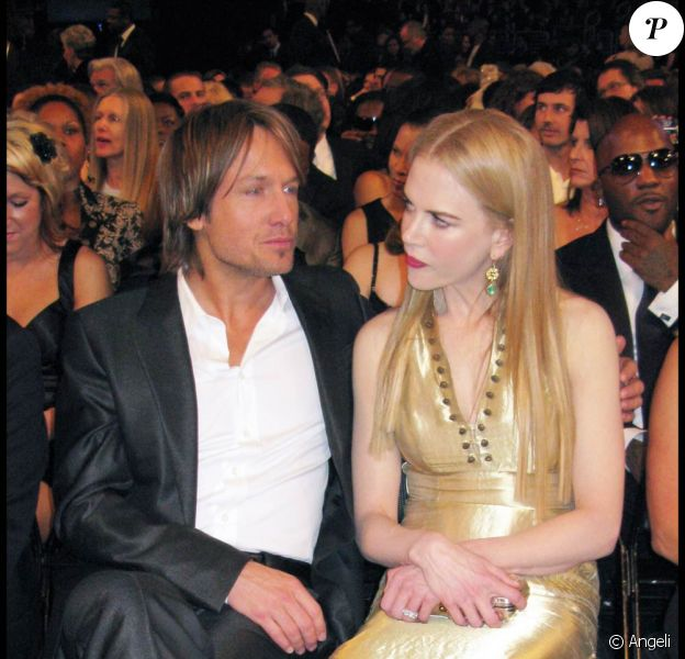 Nicole Kidman et son mari Keith Urban
