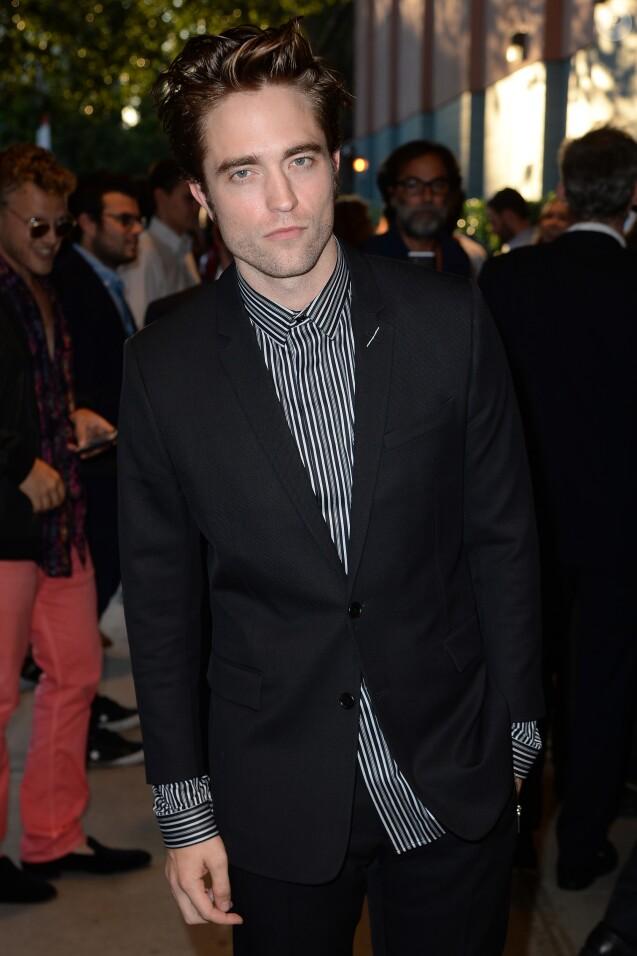 """Robert Pattinson - Les célébrités arrivent à la première du film """"Good Time"""" au théâtre SVA à New York, le 8 août 2017"""
