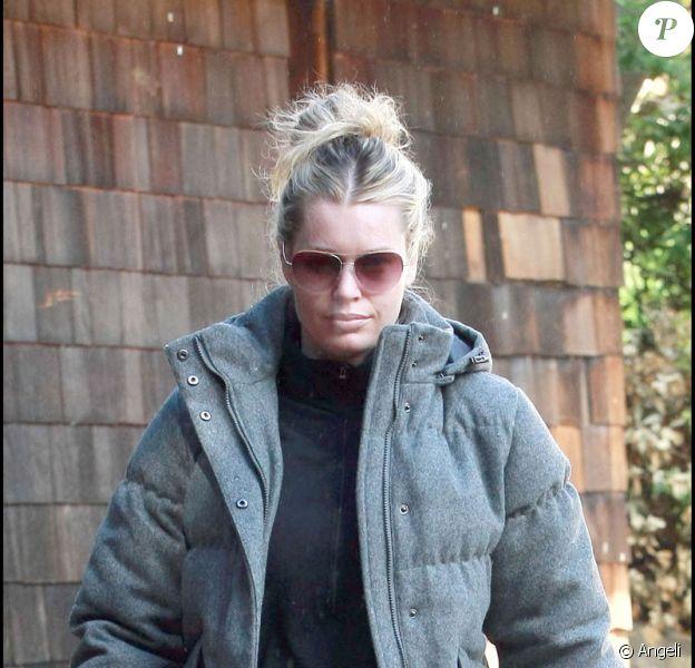 Rebecca Romijn s'entraîne dur pour retrouver la ligne
