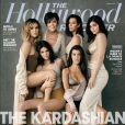 "Kris Jenner et ses filles Kourtney, Kim, Khloé Kardashian, Kendall et Kylie Jenner en couverture de ""The Hollywood Reporter"". Août 2017."