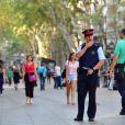 Image de La Rambla, à Barcelone, au lendemain de l'attaque terroriste qui y a été perpétrée le 17 août 2017.