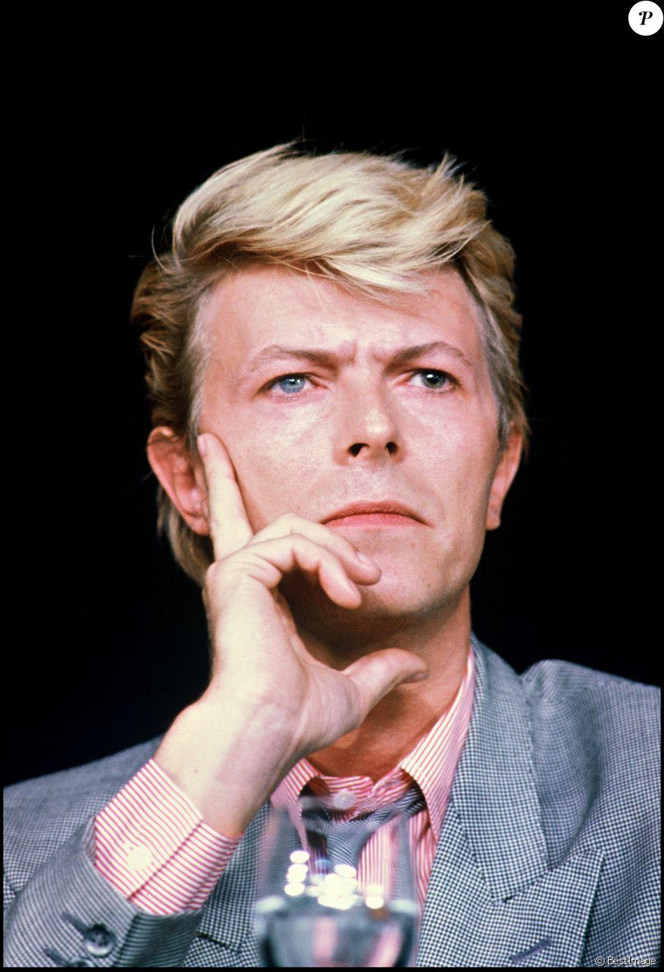 David Bowie à Cannes en 1983