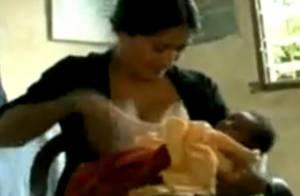 VIDEO : Salma Hayek donne le sein à un enfant en détresse, regardez !