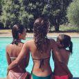 Sonia Rolland et ses deux filles Tess (10 ans) et Kahina (6 ans) ont reproduit la même photo trois ans de suite.