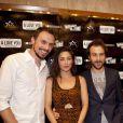 """Paul Lefevre, Fanny Valette, Antoine Gouy - Avant-première du film """"A Love You"""" lors de l'ouverture du Festival du Marrakech du Rire, le 10 juin 2015."""