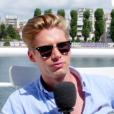 """""""Benoît Dubois interviewée par Purepeople.com lors de la conférence de presse du groupe NRJ. Juin 2017."""""""