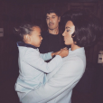 North West, Kim Kardashian et le photographe Steven Klein. Août 2017.