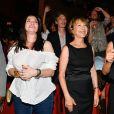 Beatrice Dalle, Nathalie Baye et Sandrine Bonnaire - 10e festival du Film Francophone d'Angoulême, France, le 27 août 2017. © Coadic Guirec/Bestimage