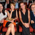 Béatrice Dalle, Nathalie Baye, Sandrine Bonnaire et Jean-Michel Ribes - 10e festival du Film Francophone d'Angoulême, France, le 27 août 2017. © Coadic Guirec/Bestimage