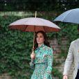 Le prince William, le prince Harry et Kate Middleton ont visité le 30 août 2017, à la veille du 20e anniversaire de la mort de Lady Diana, le Sunken Garden devenu le White Garden dans les jardins du palais de Kensington.