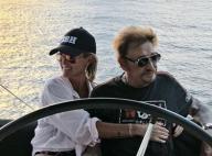 Laeticia et Johnny Hallyday : Derniers instants de détente avant le départ