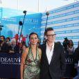Michel Hazanavicius et Bérénice Bejo - Tapis rouge de la cérémonie d' ouverture du 43 ème Festival Américain de Deauville Le 01 Septembre 2017 ©Denis Guignebourg / Agence Bestimage