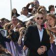 Robert Pattinson - Inauguration de la cabine de Robert Pattinson sur les planches au 43ème Festival du Film Américain de Deauville le 02 septembre 2017. © Denis Guignebourg / Bestimage