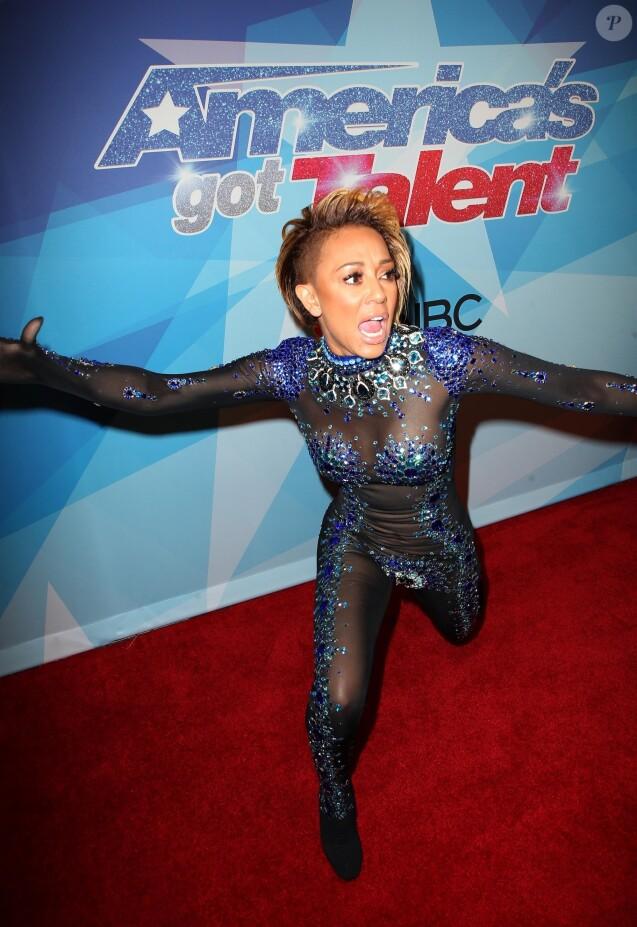 Mel B, Melanie Brown lors de la première de la saison 12 de ''America's Got Talent'' au théâtre Dolby à Hollywood, le 15 août 2017.