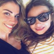 Alexandra Rosenfeld : Rentrée câline avec son adorable fille, Ava