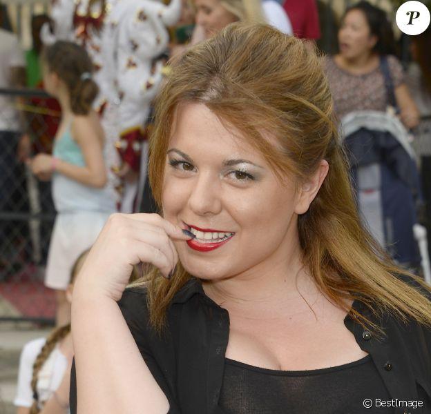 Info - Cindy Lopes, enceinte, annonce qu'elle va se marier - Cindy Lopes - Inauguration de la Fête des Tuileries à Paris le 26 juin 2015.