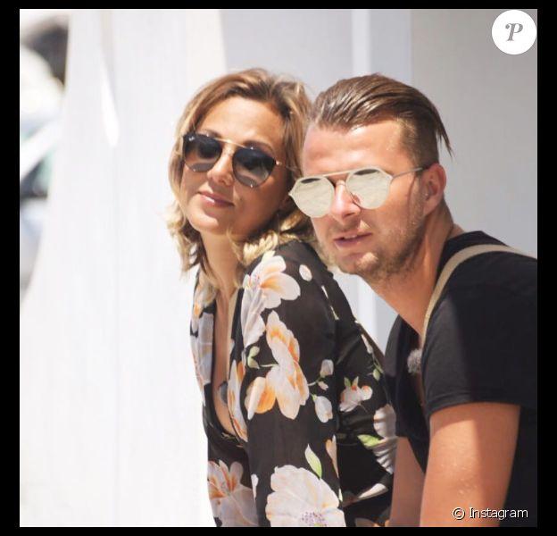 Barbara Lune et Vincent Shogun, le 13 juillet 2017 dans le sud de la France.