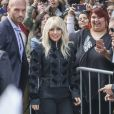 "Lady Gaga arrive à une conférence de presse au TIFF (Toronto International Film Festival) pour la promotion d'un documentaire de Netflix ""Gaga : five foot two"" à Toronto le 8 septembre 2017. 08/09/2017 - Toronto"