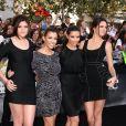 "Kylie Jenner, Kourtney Kardashian, Kim Kardashian, Kendall Jenner - Première du film ""Eclipse""  à Los Angeles le 24 juin 2010."