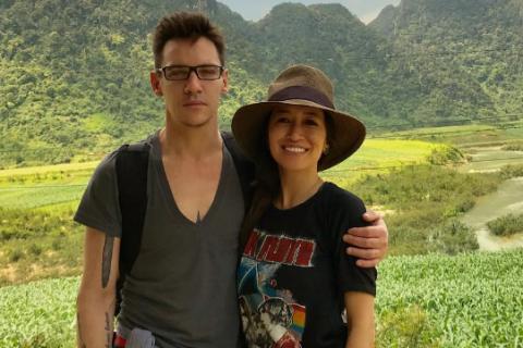 """Jonathan Rhys-Meyers et sa femme : """"Notre bébé repose au pied d'un arbre"""""""