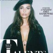 Emily Ratajkowski trop retouchée en une d'un magazine français, elle s'énerve