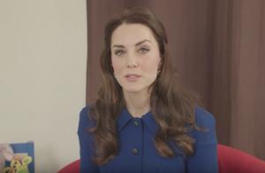 Kate Middleton, maman engagée : Nouveau message vidéo de la duchesse
