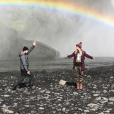 Aaron Paul et son épouse Lauren en Islande. Instagram, septembre 2017.