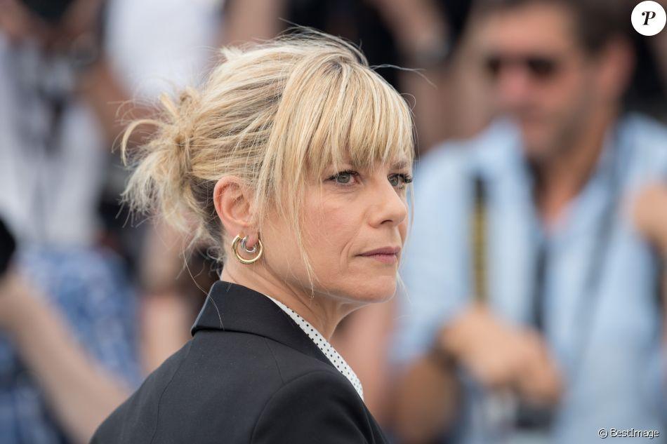 """Marina Foïs au photocall du film """"L'Atelier"""" lors du 70e Festival International du Film de Cannes, France, le 22 mai 2017. © Borde-Jacovides-Moreau/Bestimage"""