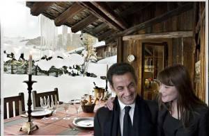 Découvrez l'endroit où Nicolas Sarkozy, sa Carlita et les enfants... passent leurs vacances d'hiver !