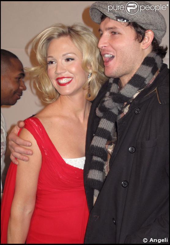 Jennie Garth et son mari Peter Facinelli au Heart Truth Red Dress de New-York