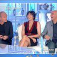 """Valérie Bénaïm défend Laurent Baffie après l'affaire de la robe, """"TPMP"""", lundi 25 septembre 2017, C8"""