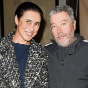 Philippe Starck soutenu par son épouse Jasmine à la soirée Degrenne