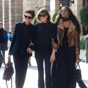 Carla Bruni : Radieuse à Paris, avec Naomi Campbell et Farida Khelfa