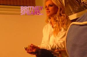 Découvrez les photos exclusives de Britney Spears en plein tournage de son nouveau clip !