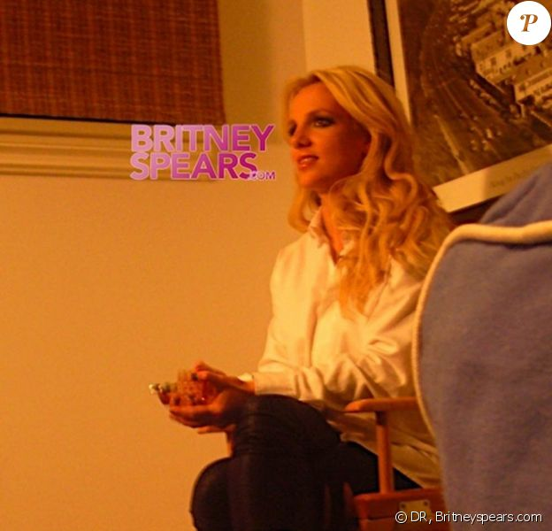 Britney Spears, en plein tournage de son nouveau clip, If U Seek Amy