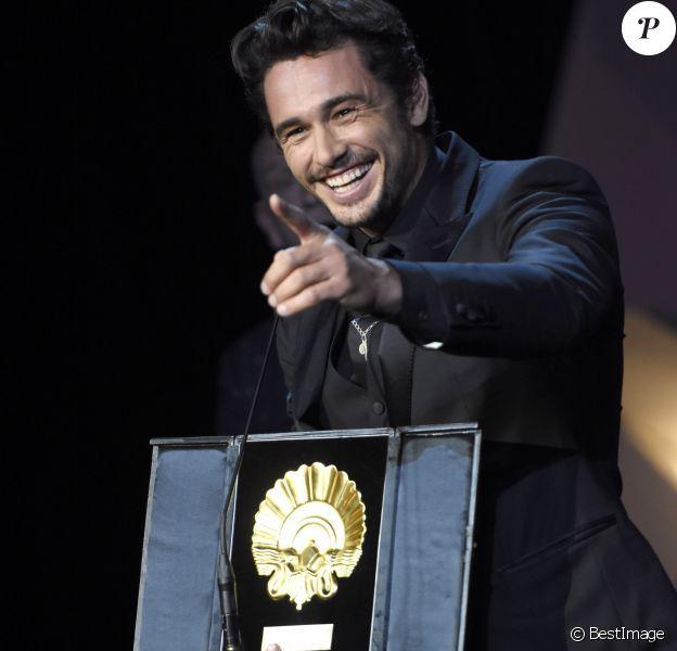 """James Franco (meilleur film pour """"The Disaster Artist"""") - Cérémonie de clôture et remise des prix lors du 65ème festival du film de San Sebastian, le 30 septembre 2017."""