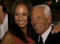 VIDEO + PHOTOS : quand Victoria Beckham et Alicia Keys vous ouvrent les portes de la soirée Armani... Regardez !