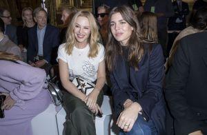 Fashion Week : Charlotte Casiraghi, matinale et radieuse à l'Opéra