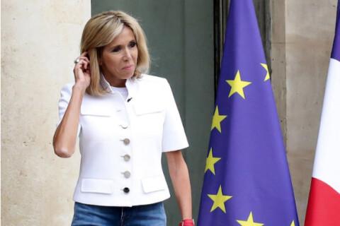 Brigitte Macron invite Bernadette Chirac et lui offre une surprise à l'Elysée