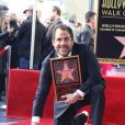 "Brett Ratner reçoit son étoile sur le célèbre ""Walk of Fame"" à Hollywood, Los Angeles, Californie, Etats-Unis, le 19 janvier 2017. © Clinton Wallace/Globe Photos/Zuma Press/Bestimage"