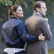Victoria et Daniel de Suède : Discret moment de tendresse, un couple au naturel