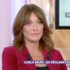"""Carla Bruni, folle de Nicolas Sarkozy : """"On se sent assez mal l'un sans l'autre"""""""