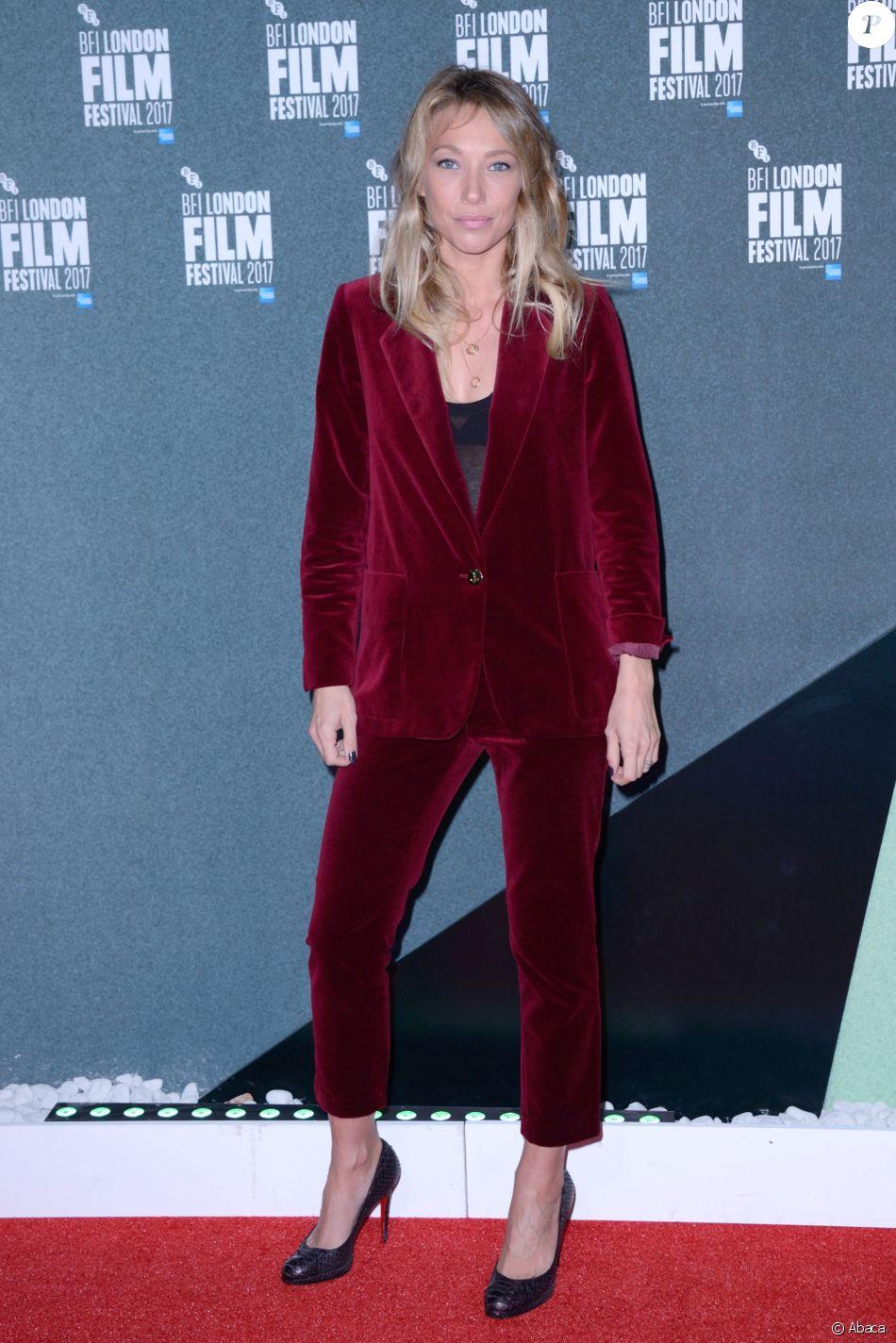 """Laura Smet - Première du film """"Les gardiennes"""" lors du BFI London International Film Festival à Londres le 7 octobre 2017."""