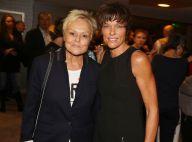 Muriel Robin : Détendue en soirée au bras de sa compagne Anne Le Nen